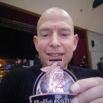 Trotse Wouter met medaille